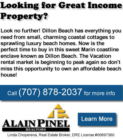 Dillon Beach Real Estate Homes for Sale